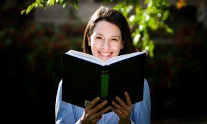 Dundee International Book Prize 2016 winner Jessica Thummel.