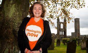 Fiona Yelland now fund-raises for meningitis research.