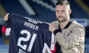 Dundee's new striker Marcus Haber insists he is fit and ready to face Partick Thistle