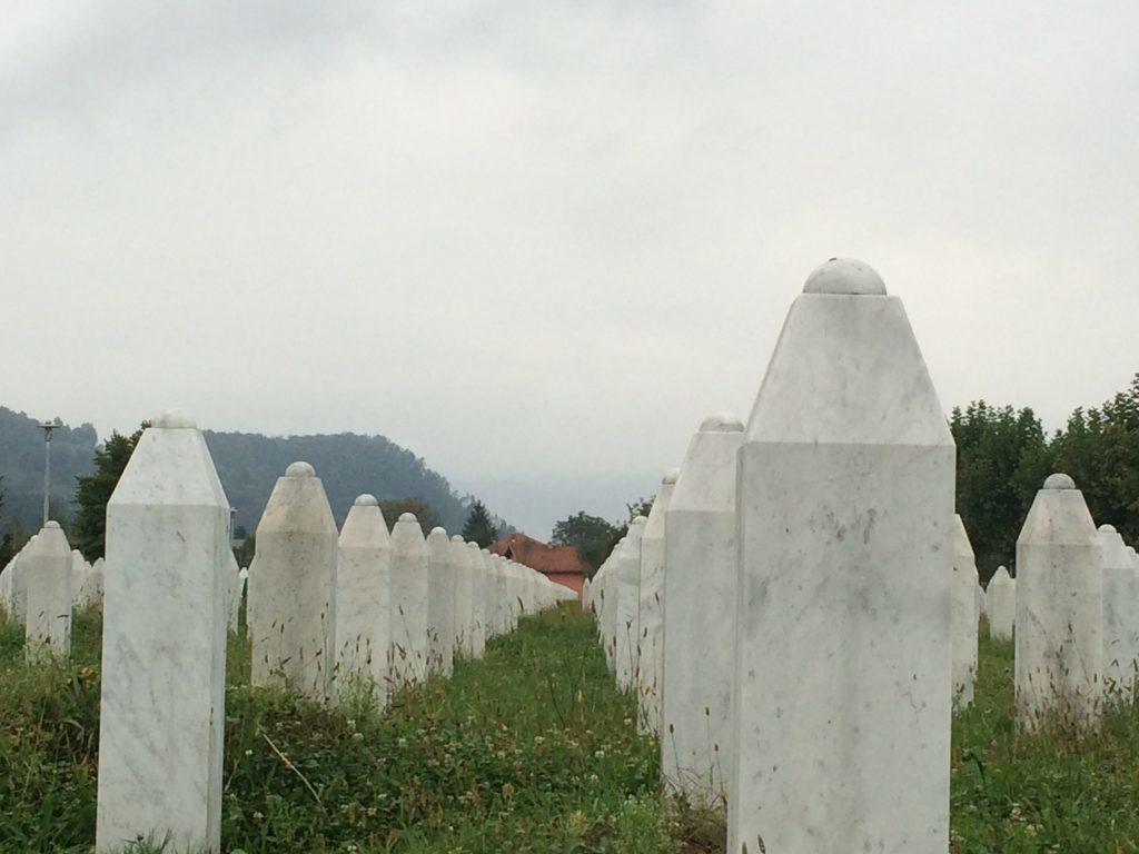 Bosnian war cemetery
