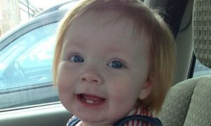 Mourners gather for tragic tot Harlow Edwards' funeral