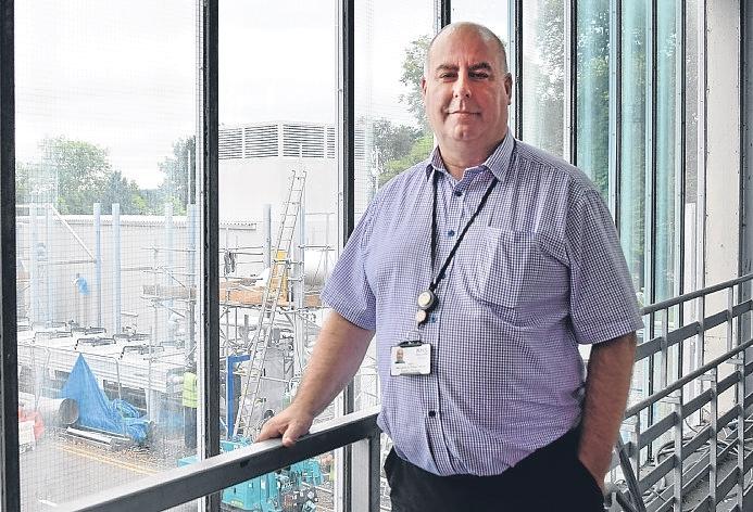 Estates manager Robert Harvie
