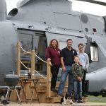 Converted Sea King helicopter is the height of luxury for glampers