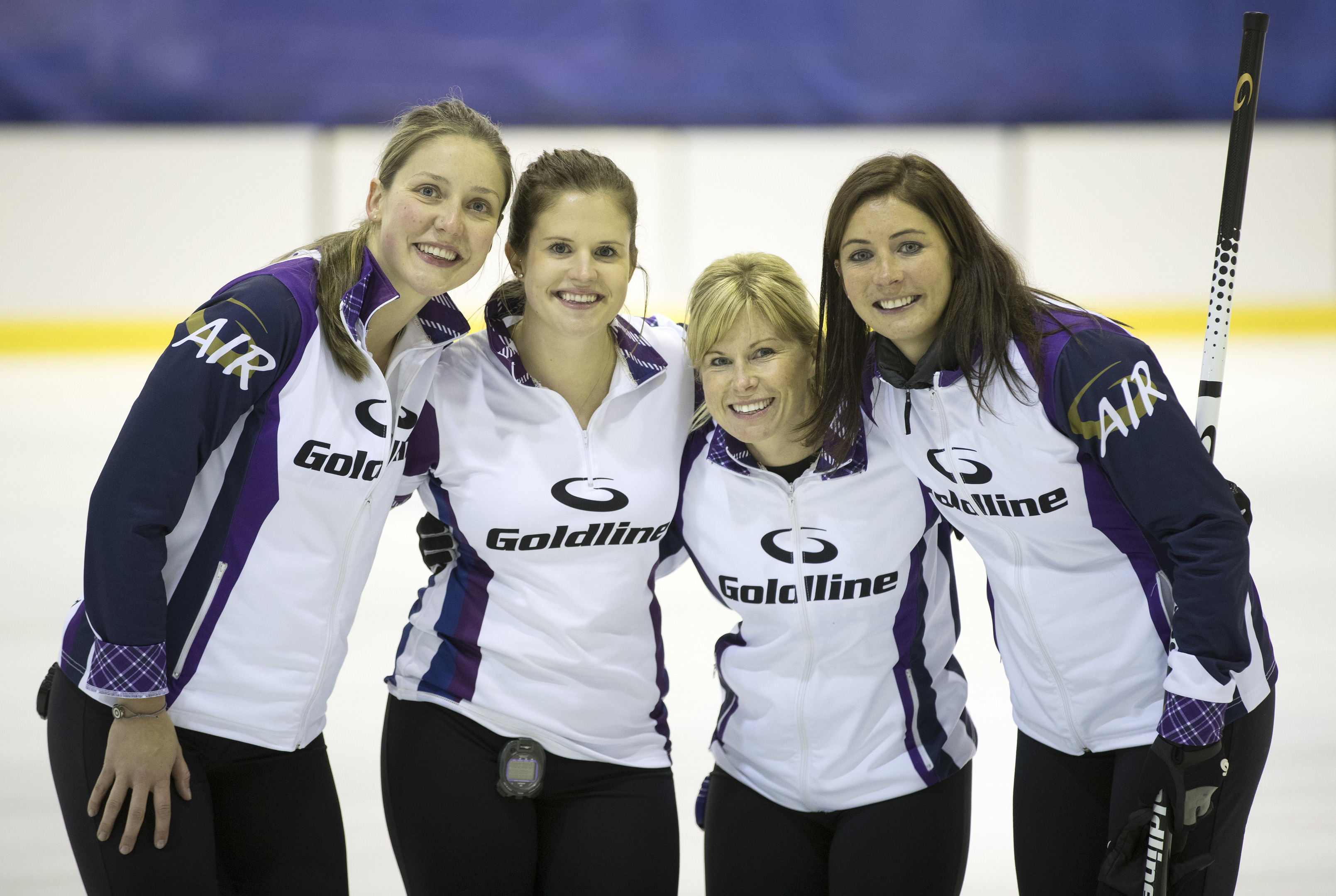 Team Muirhead dealt with the play-downs pressure.