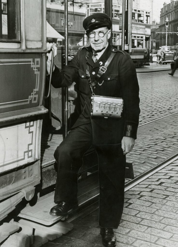 George Maxwell, the conductor on the last tram.