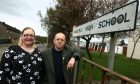 Local councillors Ian Ferguson and Fay Sinclair previously raised issues at Woodmill High School.