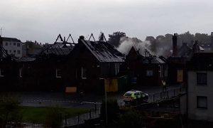 Two boys charged in connection with huge Forfar blaze