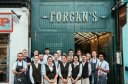 Forgan's staff standing outside the new Broughty Ferry restaurant.