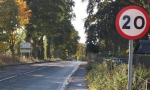 Police condemn road safety protest at Coupar Angus
