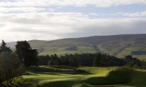The King's Course at Gleneagles, hosting the M&H Logistics Scottish Professional Championship this week.