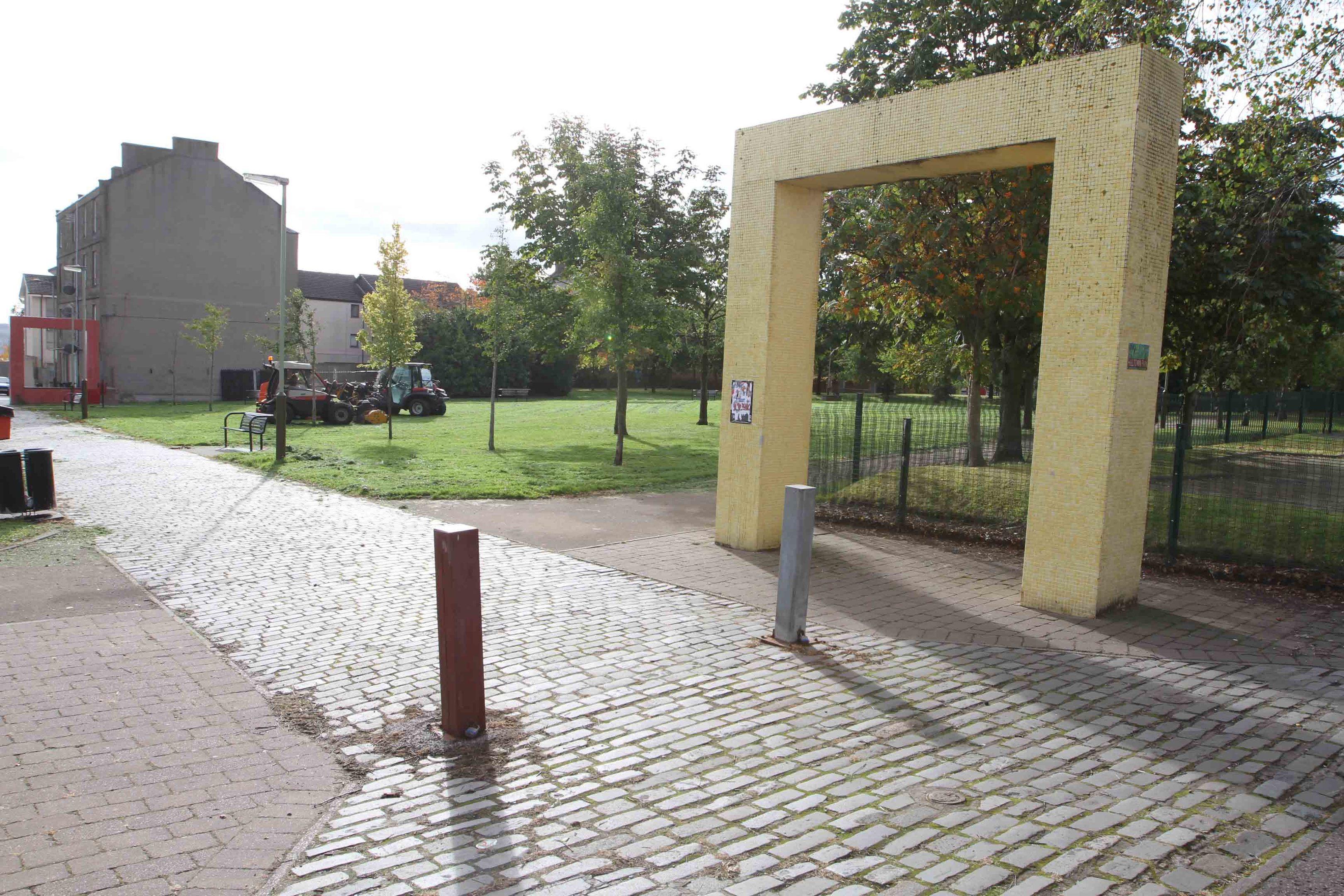 Hilltown Park, where the assault took place