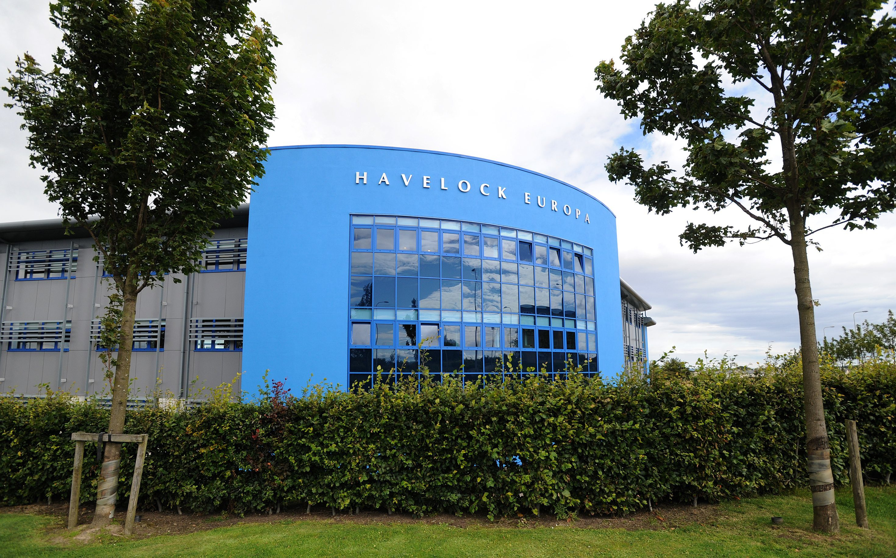 The Havelock Europa headquarters in John Smith Business Park, Kirkcaldy.