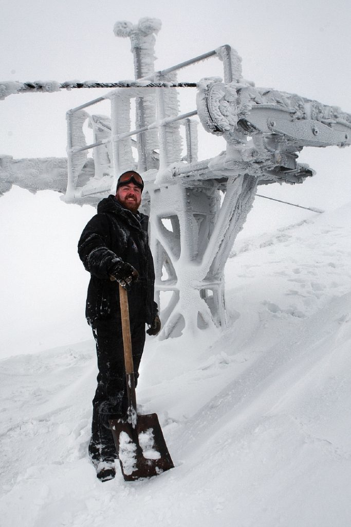 """More snow than  Sochi."" Glenshee in 2014."