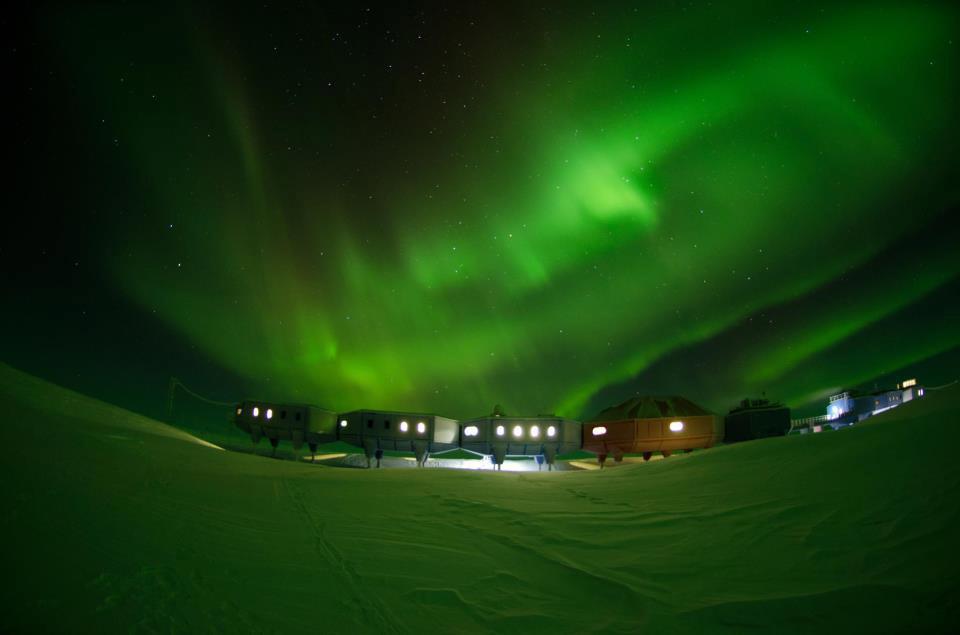 Halley VI Research Centre near the South Pole.