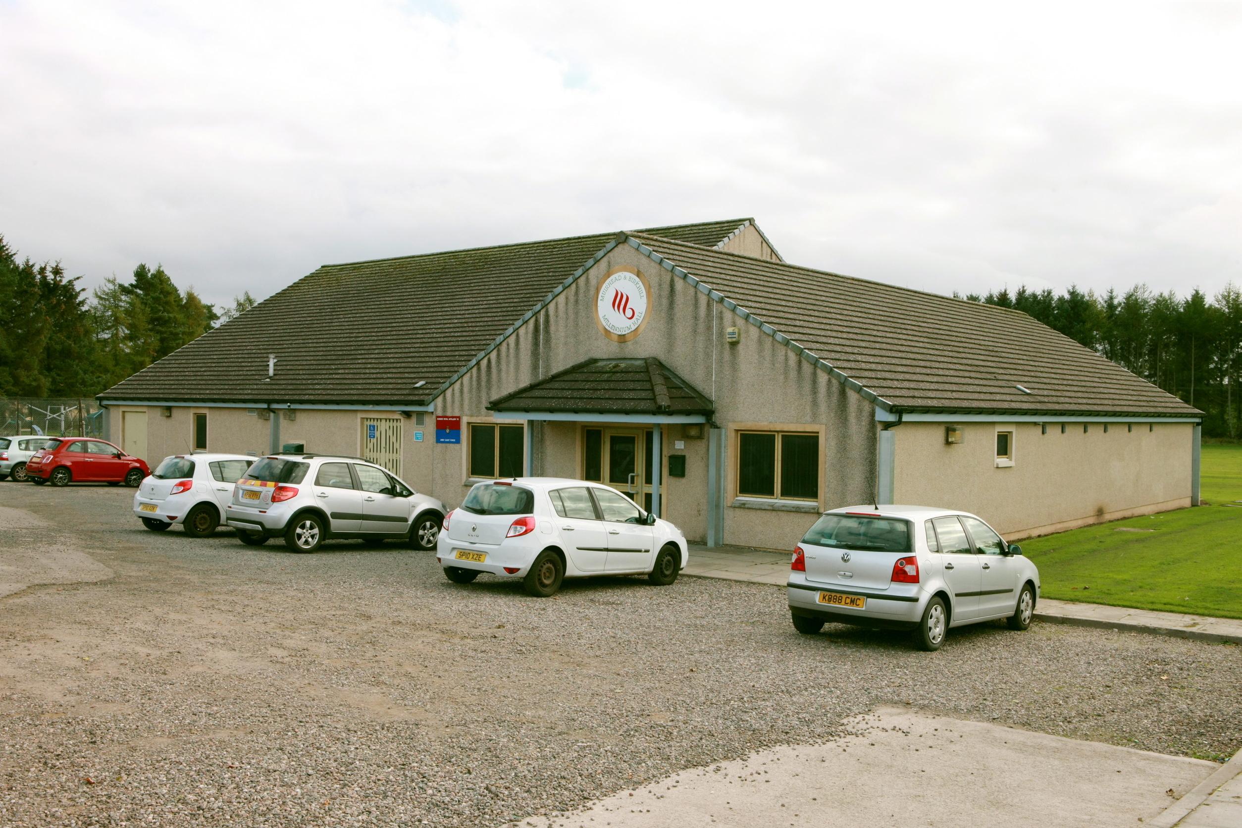 The Birkhill and Muirhead Millenium Hall.