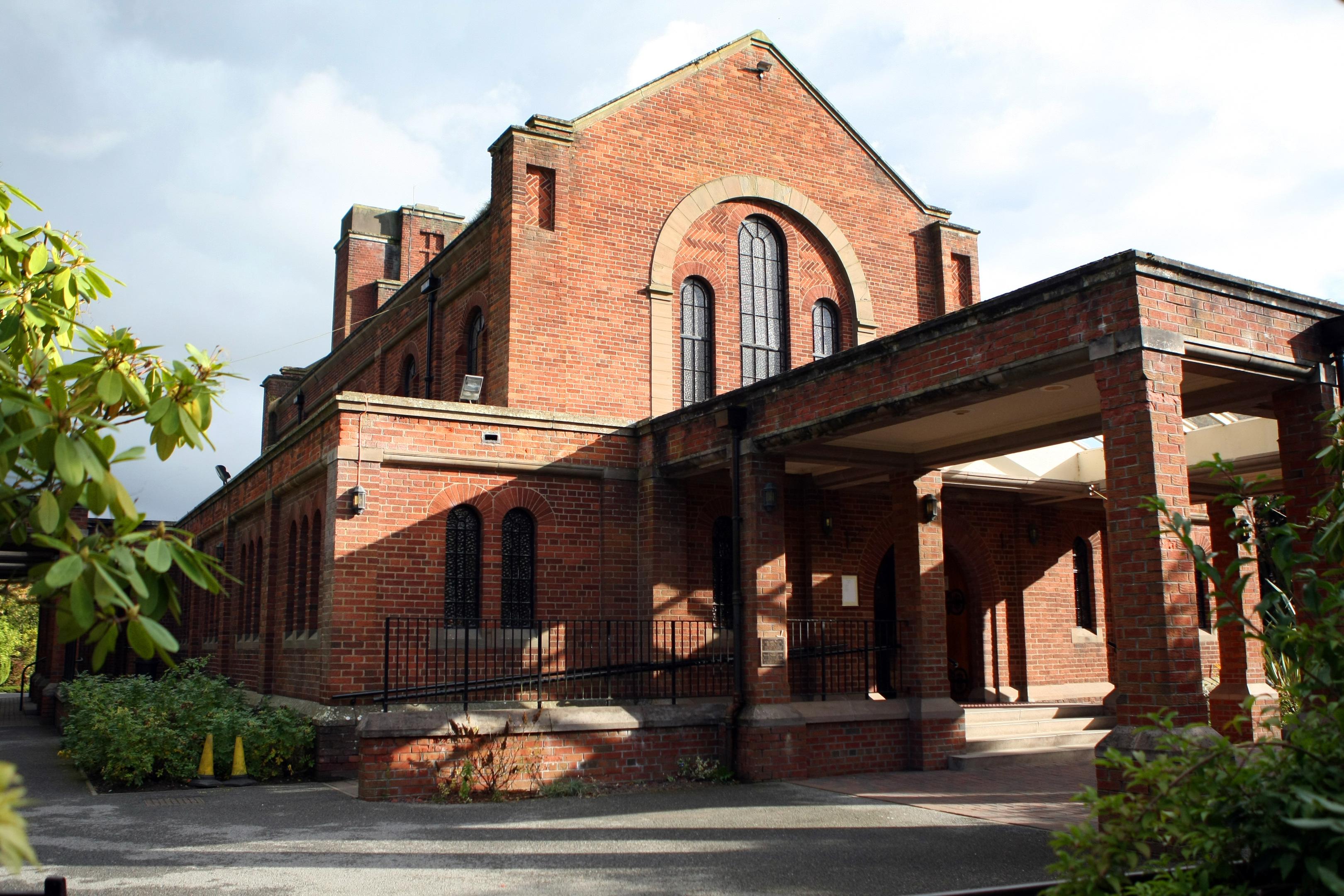 Dundee Crematorium .