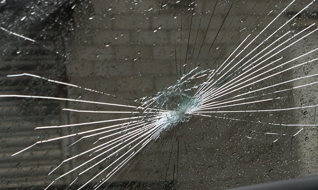 Gary Brown was traced through hairs left in the smashed windscreen. (library photo)