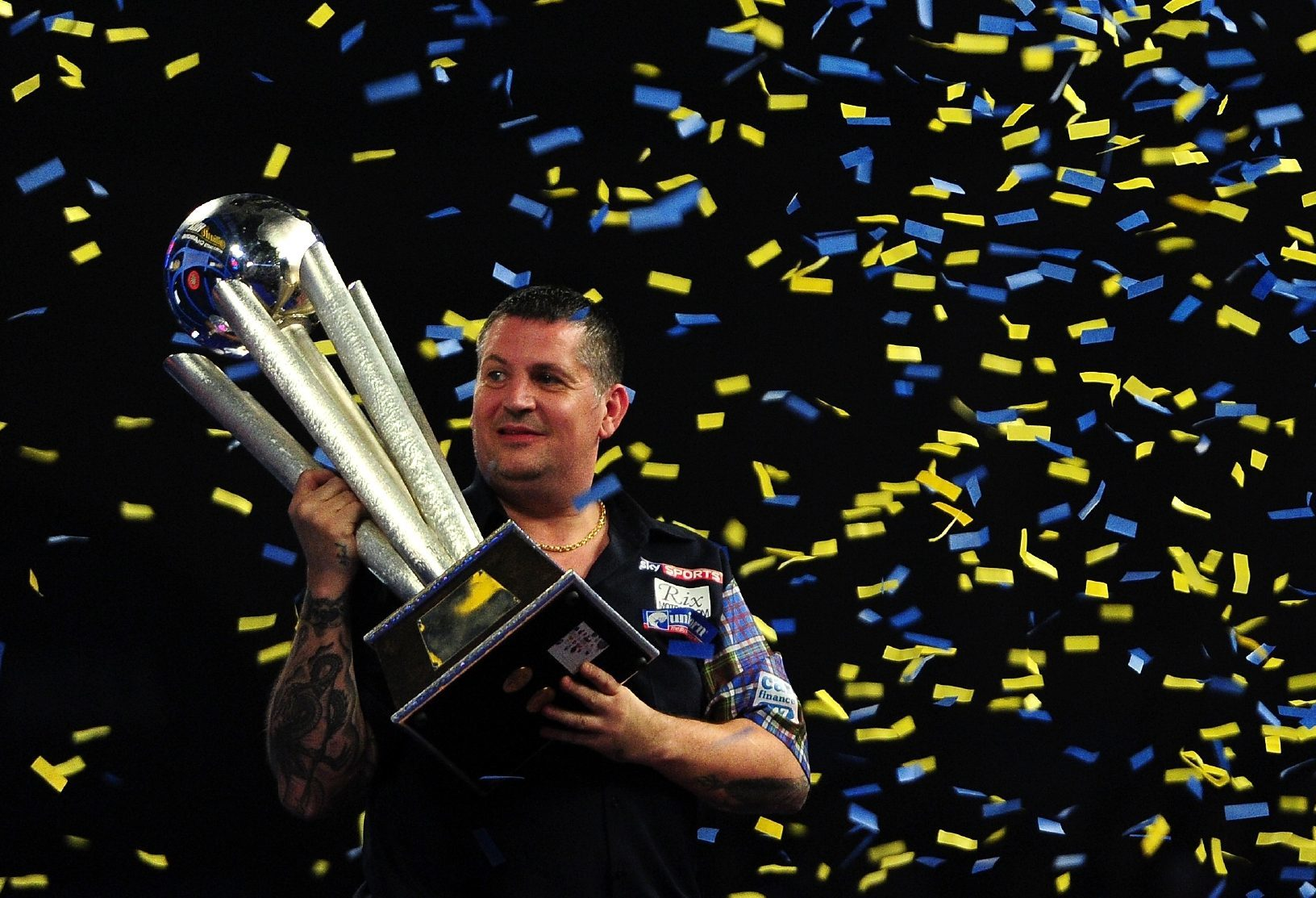 Gary Anderson.