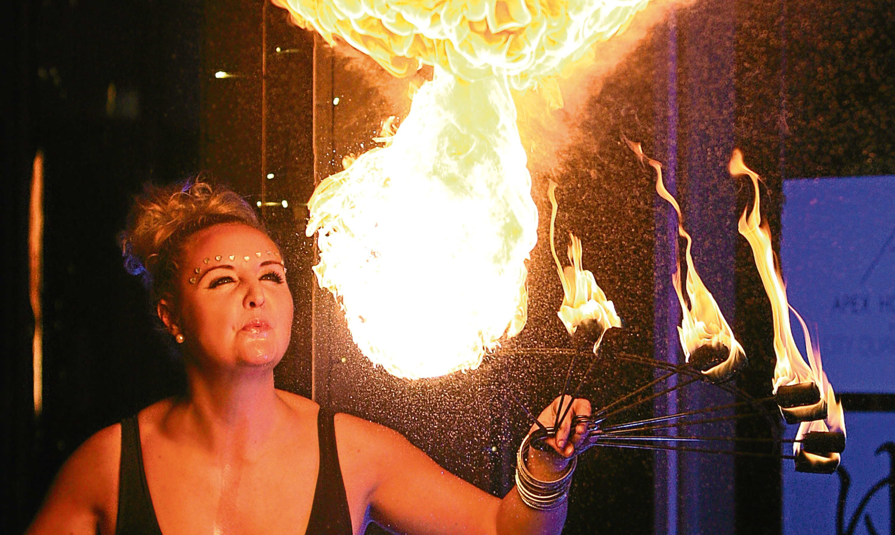 On fire: Business from across Tayside and Fife are turning up the heat on their competitors