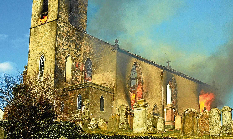 Auchtergaven and Moneydie Church, Bankfoot.