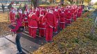 The Santas were out in full force in Cupar's Duffus Park.