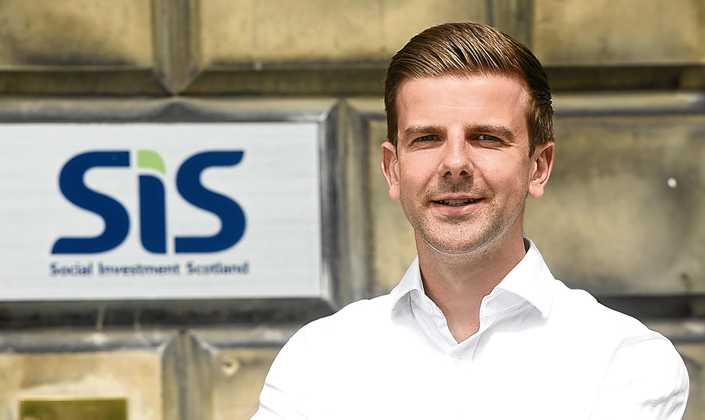 Social Investment Scotland chief financial officer Thomas Gillan