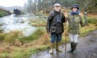 Paul and Louise Ramsay, who have played a vital role in reintroducing beavers to the Scottish landscape on their Bamff estate near Alyth.