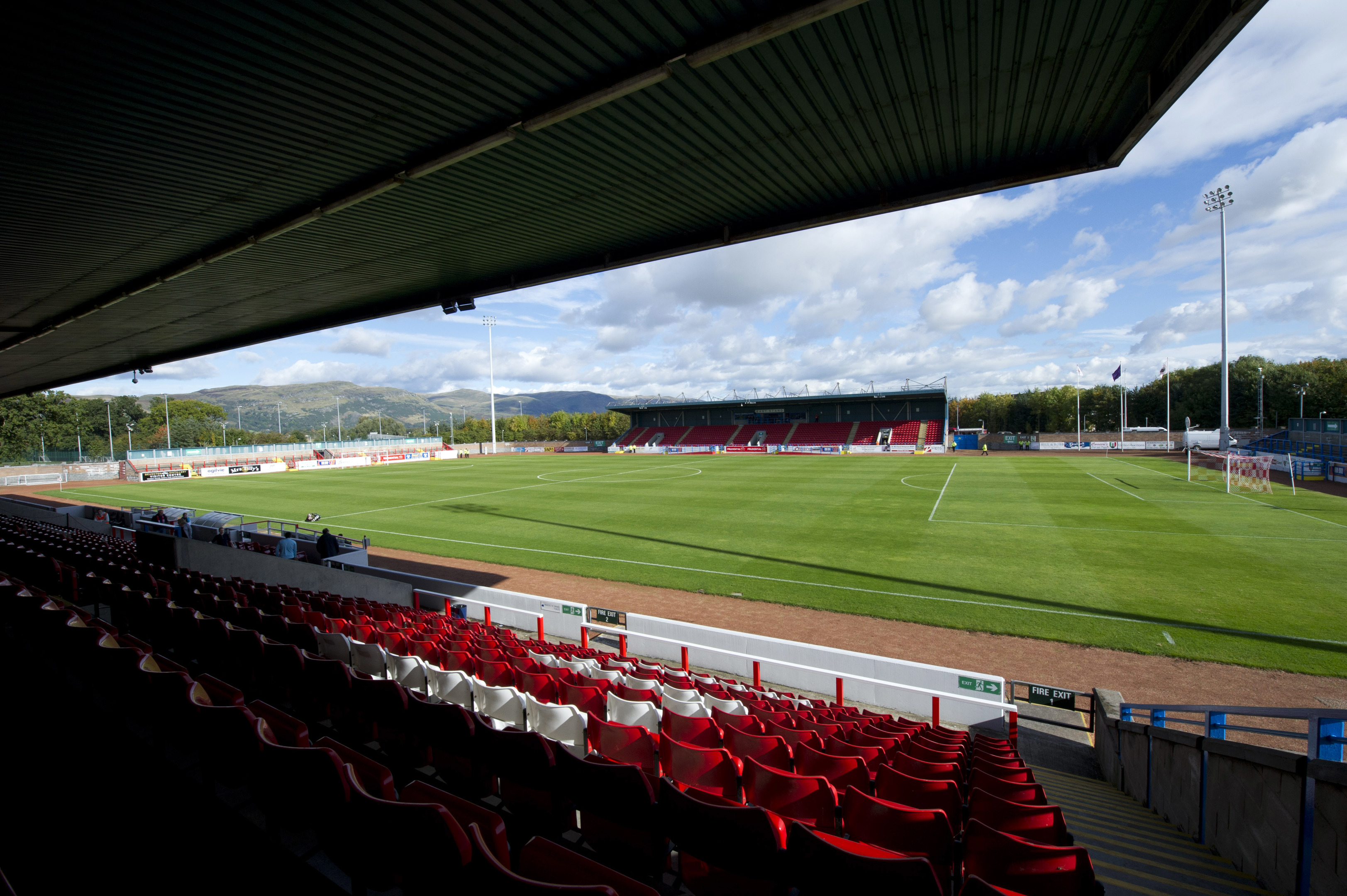 Forthbank Stadium.