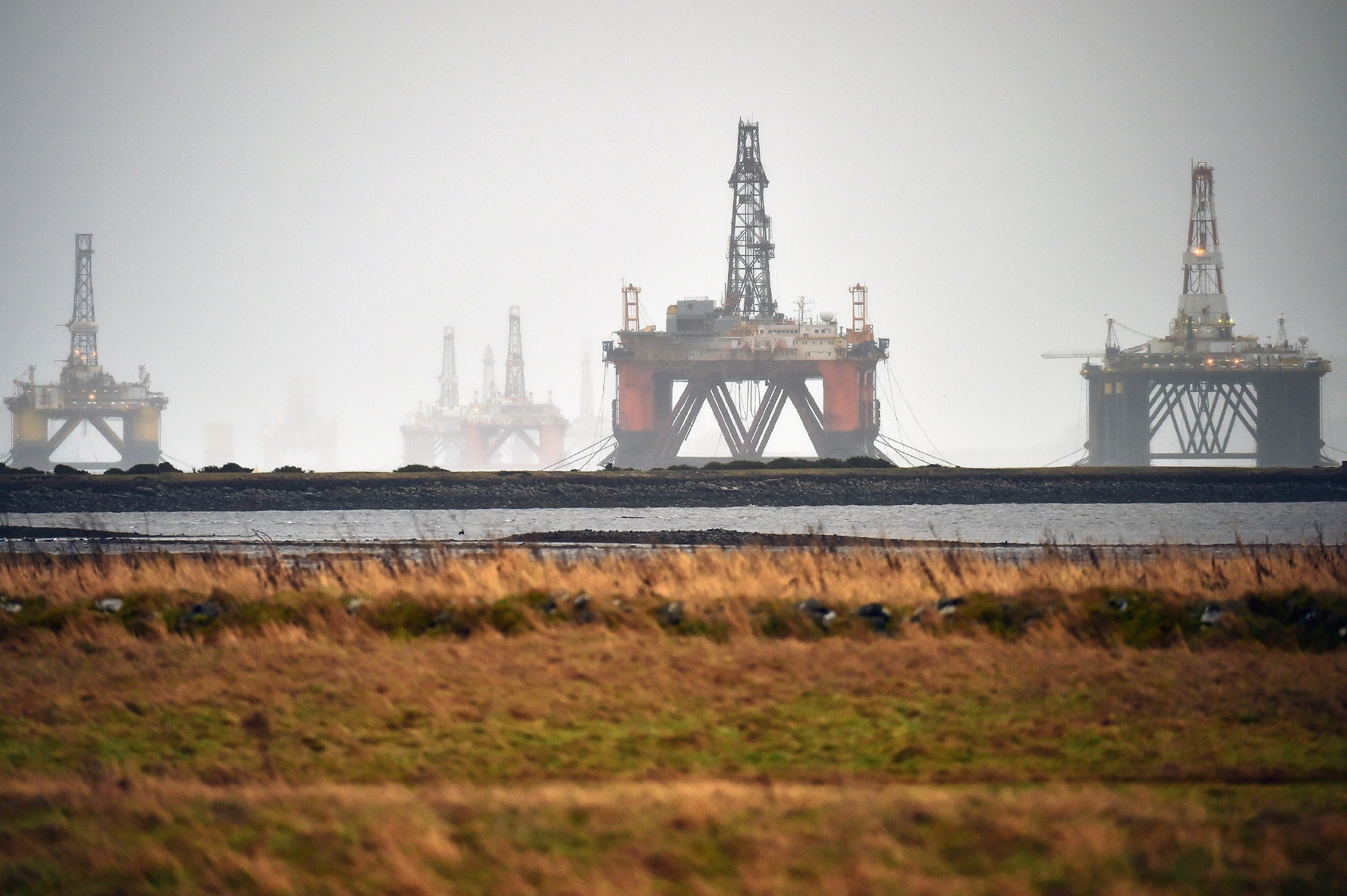 The oil price plunge has severely affected the North Sea industry.