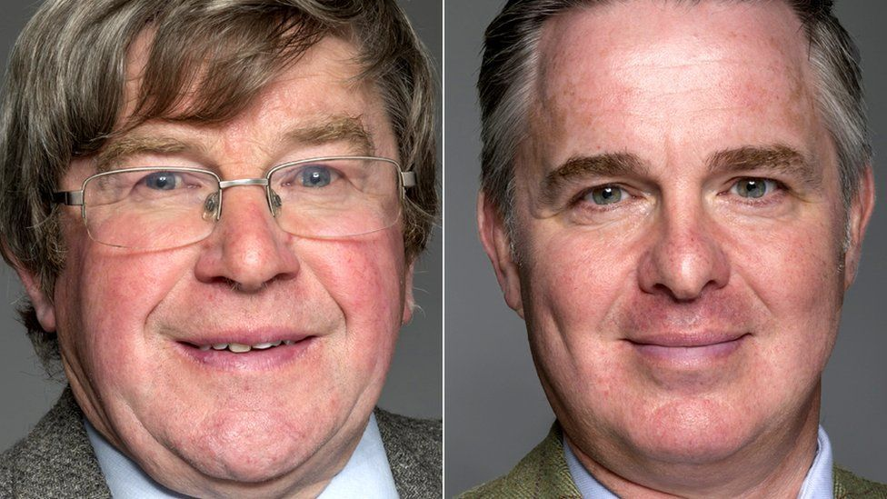Iain Taylor (left) and Colin Clark won the by-elections
