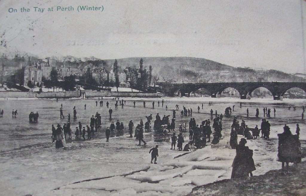 The view over the Tay of Perth