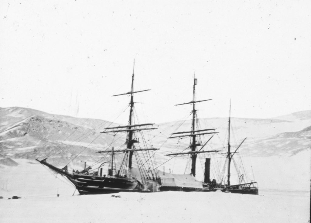 The Discovery was moored in Antarctica for two whole winters, from 1902-1903.