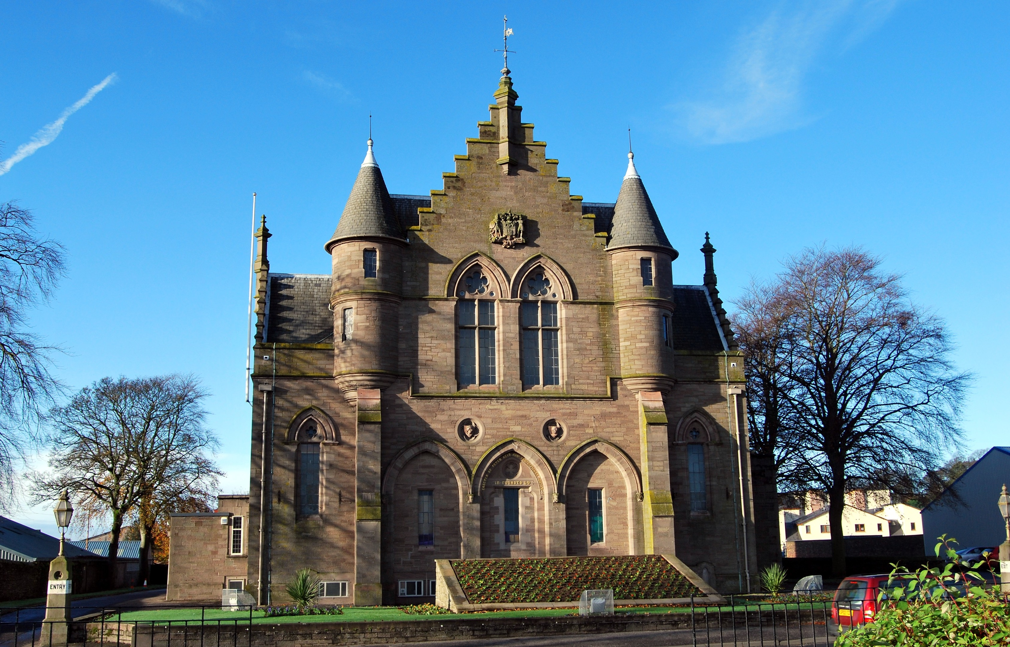 Forfar's Reid Hall is a prime town common good asset