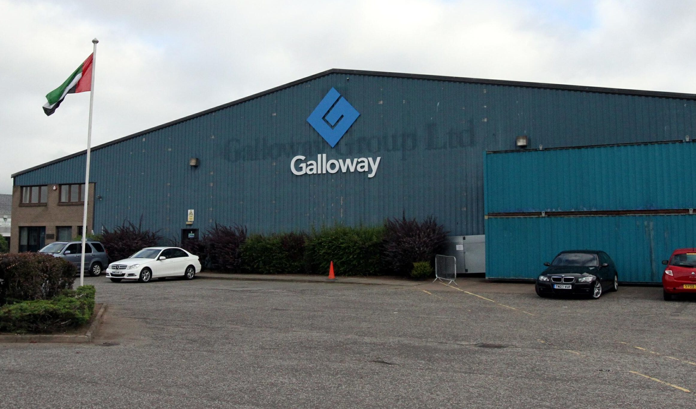 The Galloway Group factory at Wester Gourdie industrial estate.