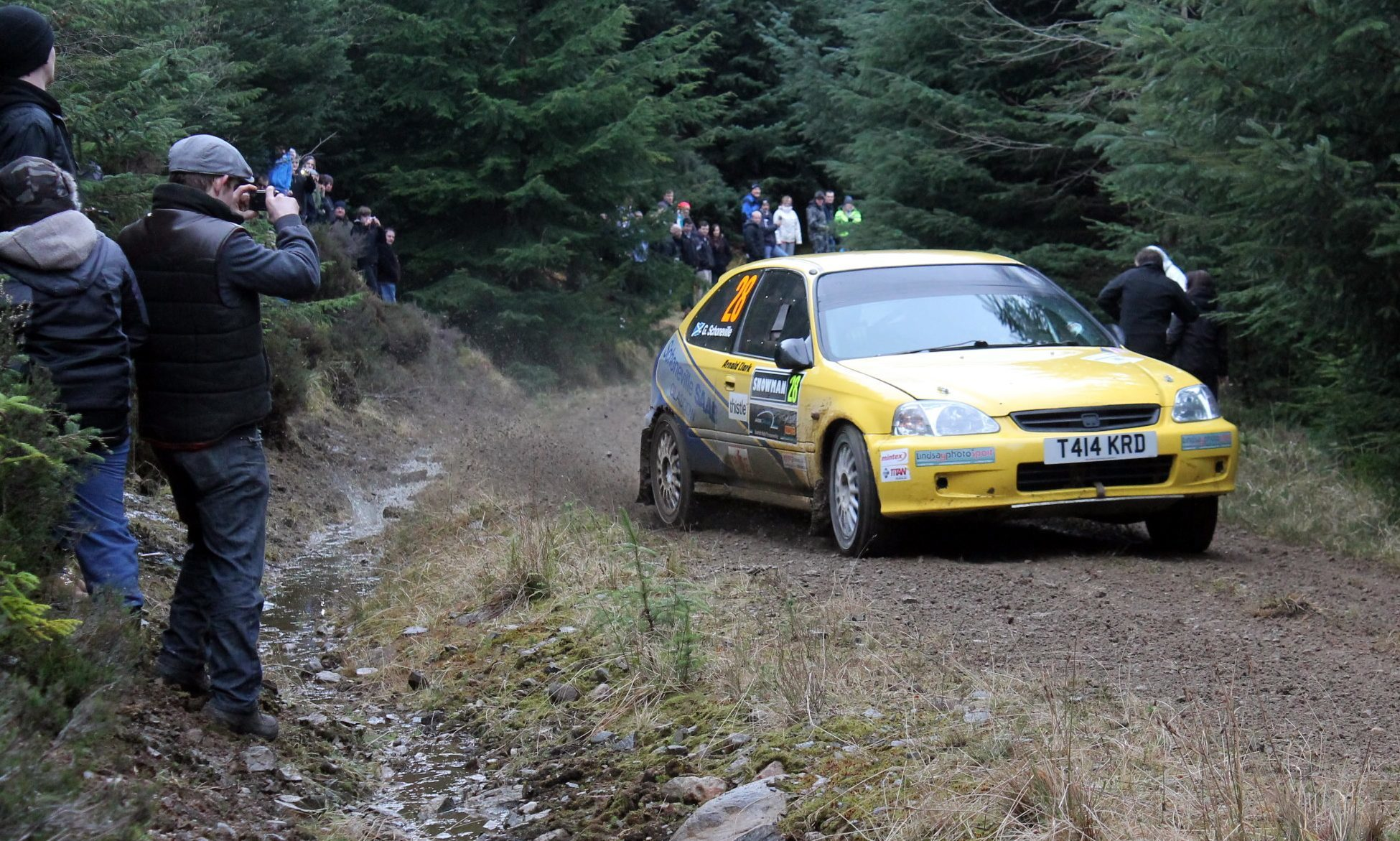 Jim Clark Rally - The Courier