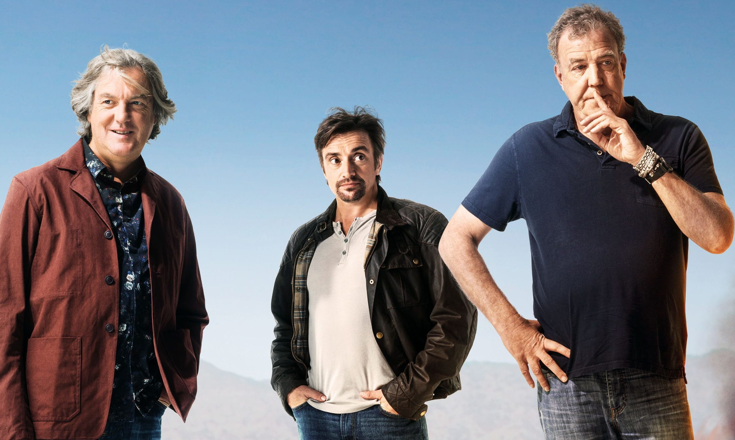 James May, Richard Hammond and Jeremy Clarkson present The Grand Tour