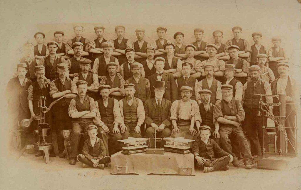 John White & Son circa 1895.