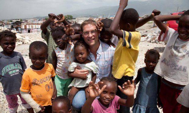 Magus MacFarlane-Barrow in Haiti.