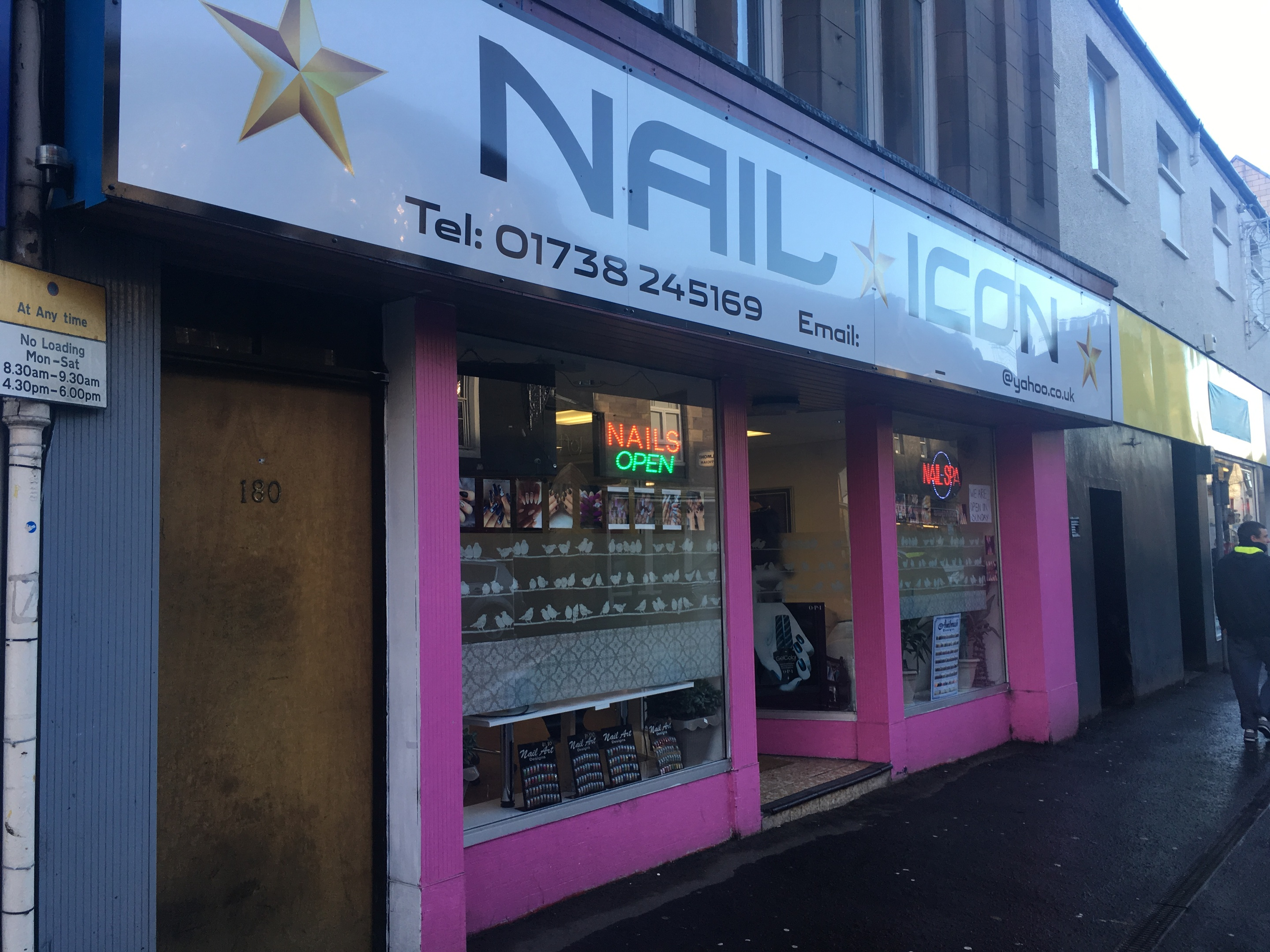 The Nail Icon store on South Street.