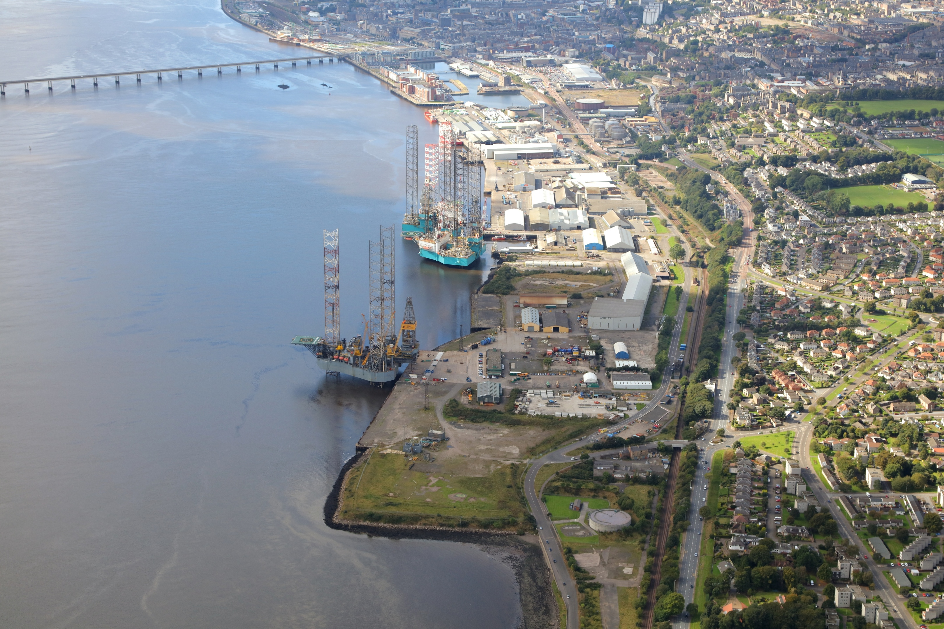 Port of Dundee will host the decom waste management facility.