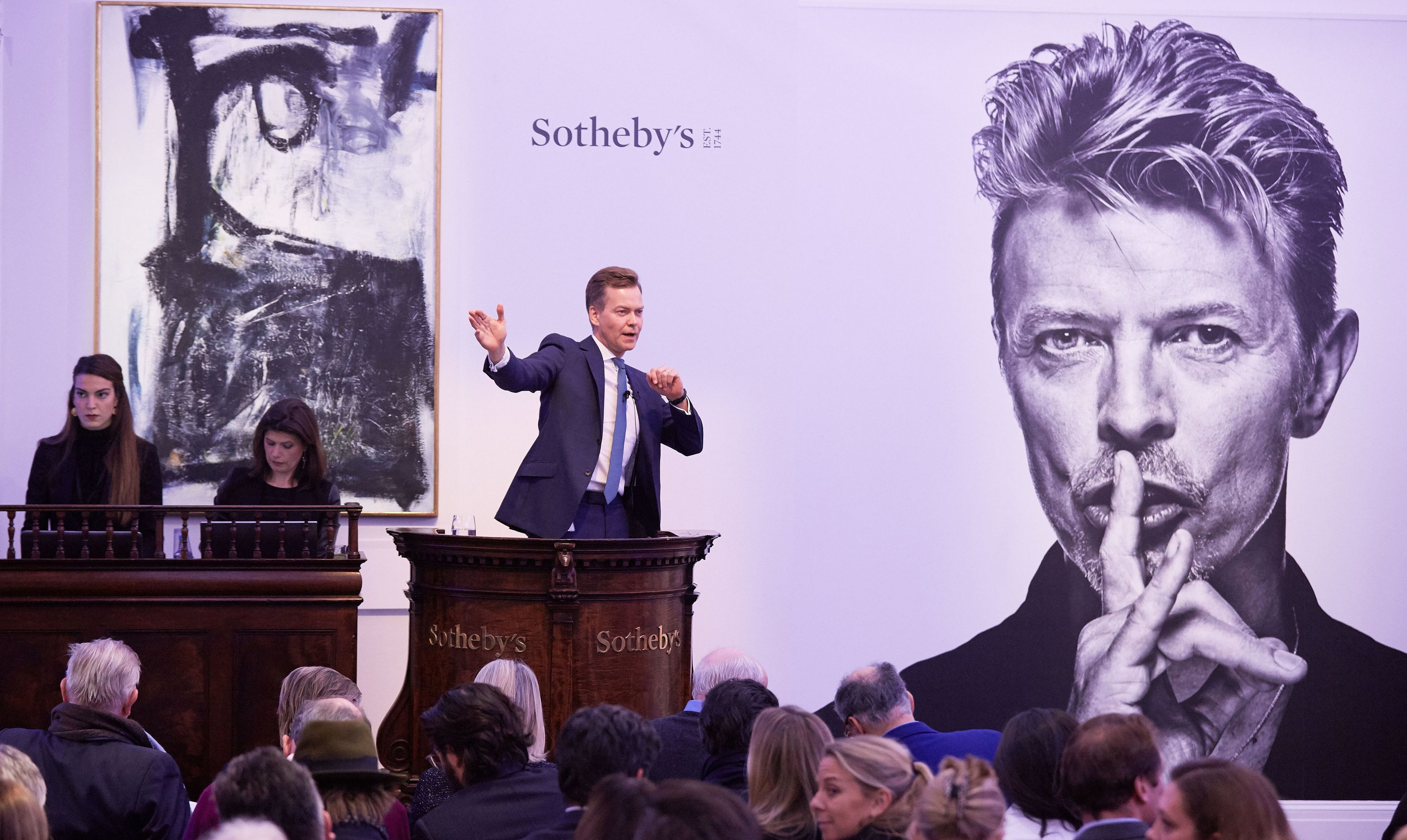 David Bowie's private art collection is being sold at Sotheby's