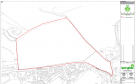 A graphic showing the site of planned housing in Rattray.