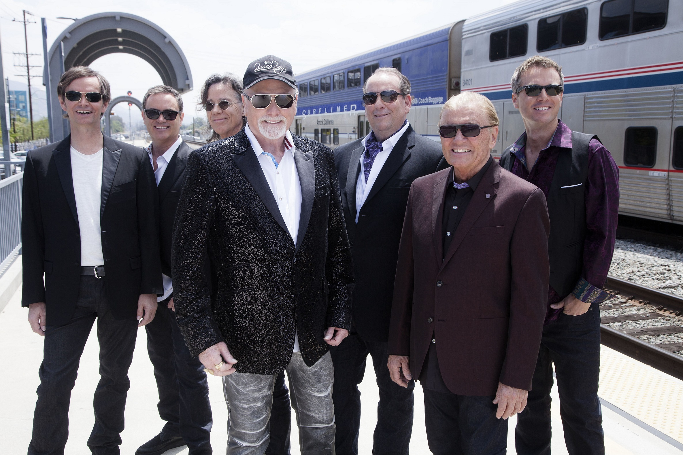 The Beach Boys said they were thrilled to be at Montrose Music Festival