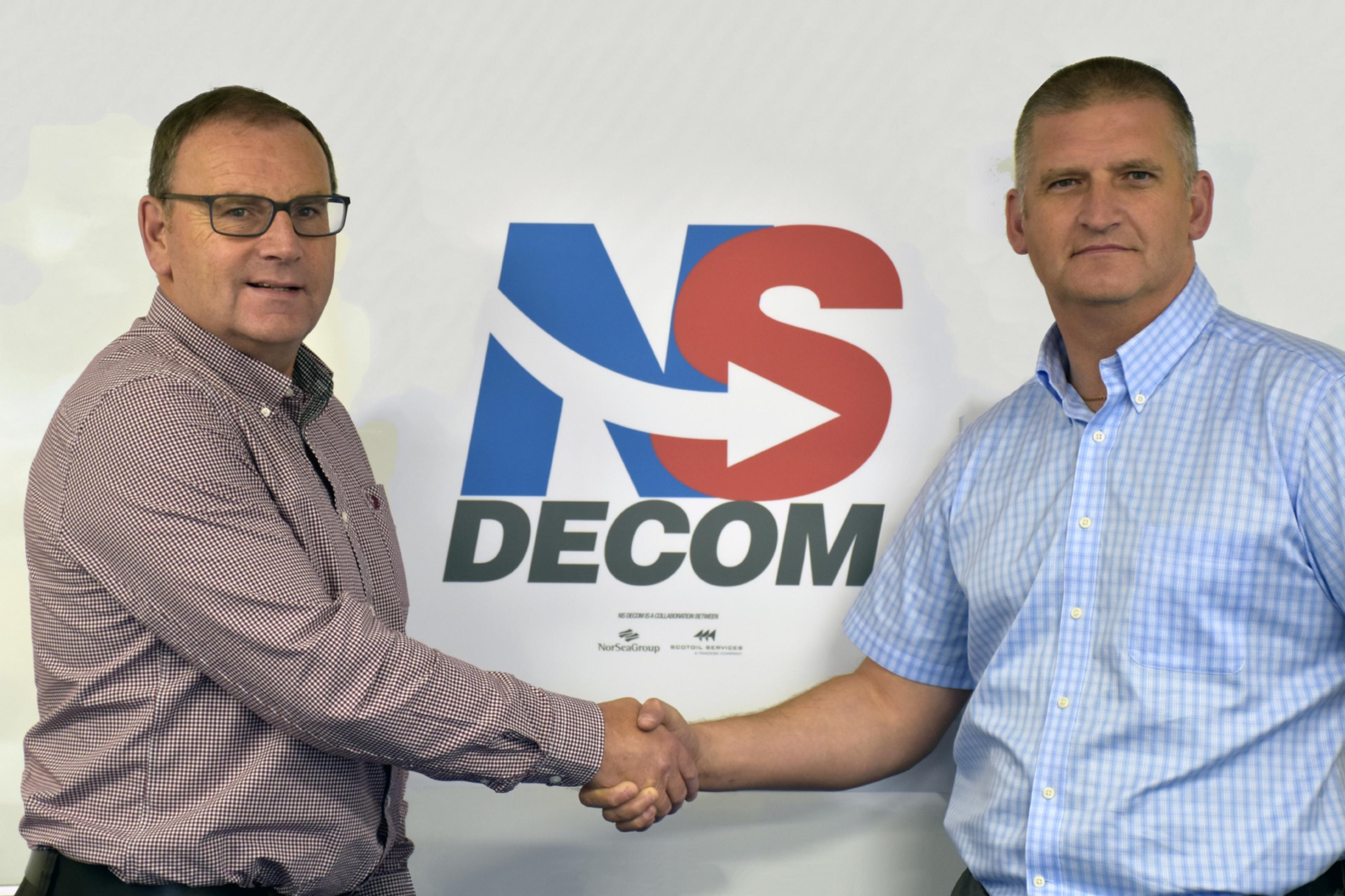 NS Decom Walter Robertson and Craig Smith