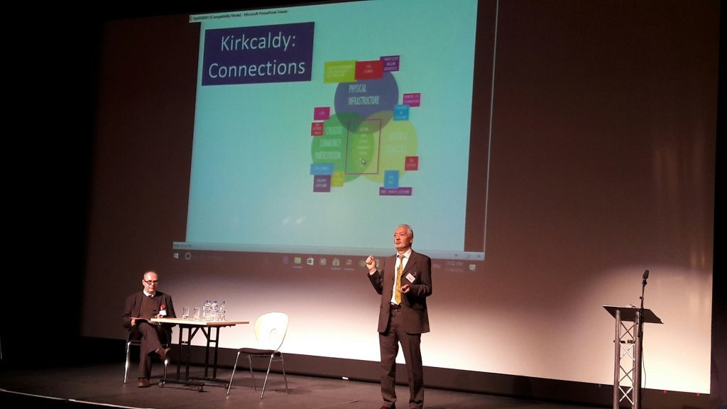Andy Milne of SURF refers to Kirkcaldy model at conference