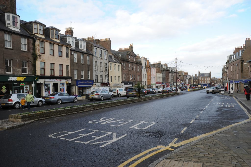 Montrose High Street today