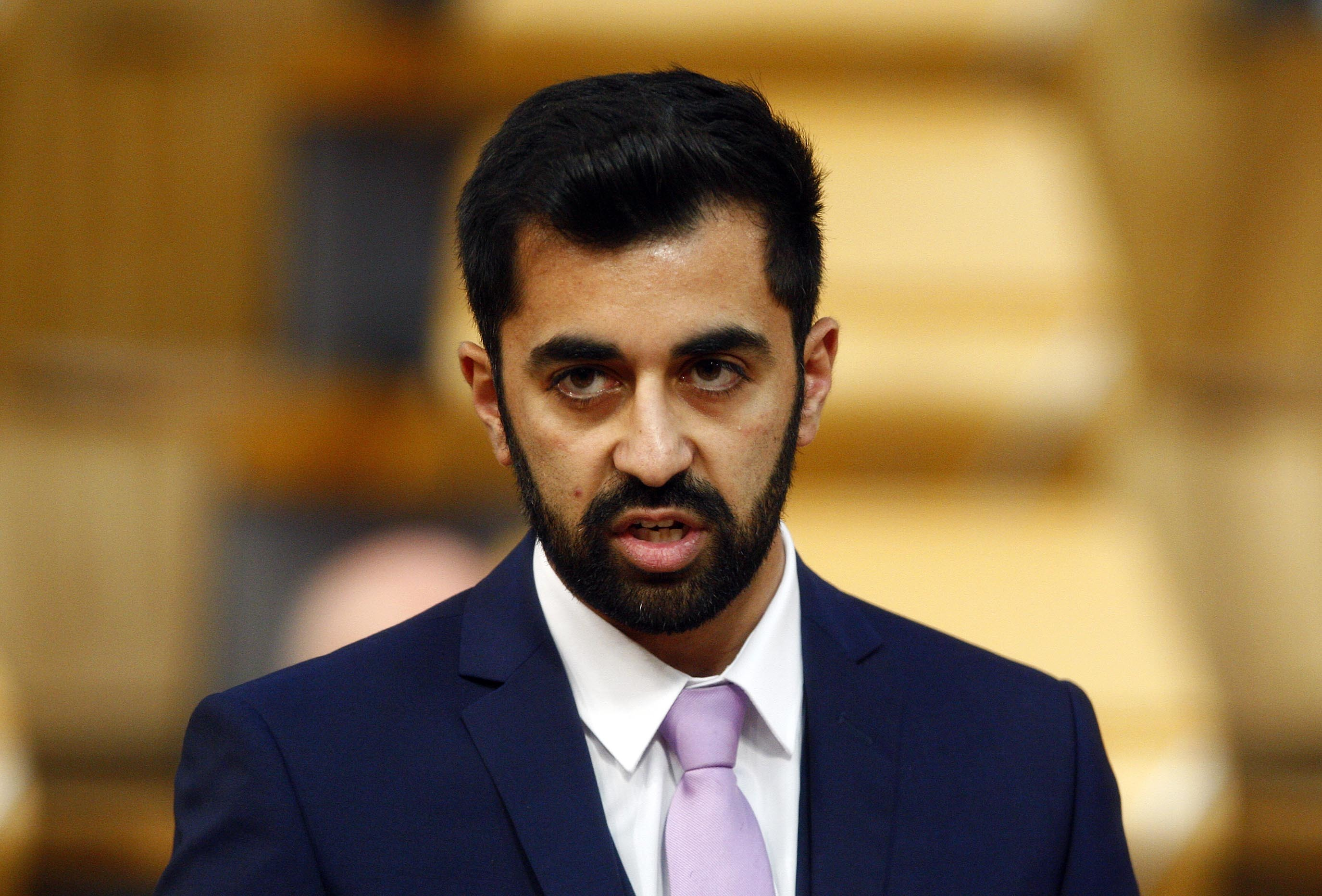 Justice Secretary Humza Yousaf.