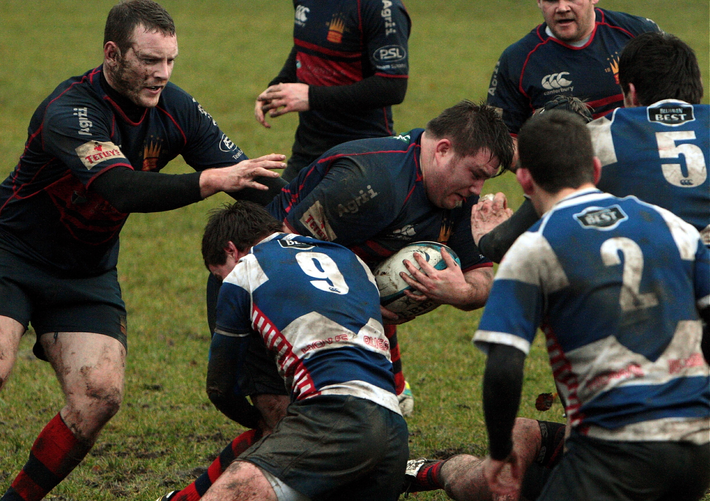 Experienced prop Neil Dymock had a big game for Dundee High against Hamilton.