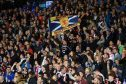 SNS stock scotland fans hampden