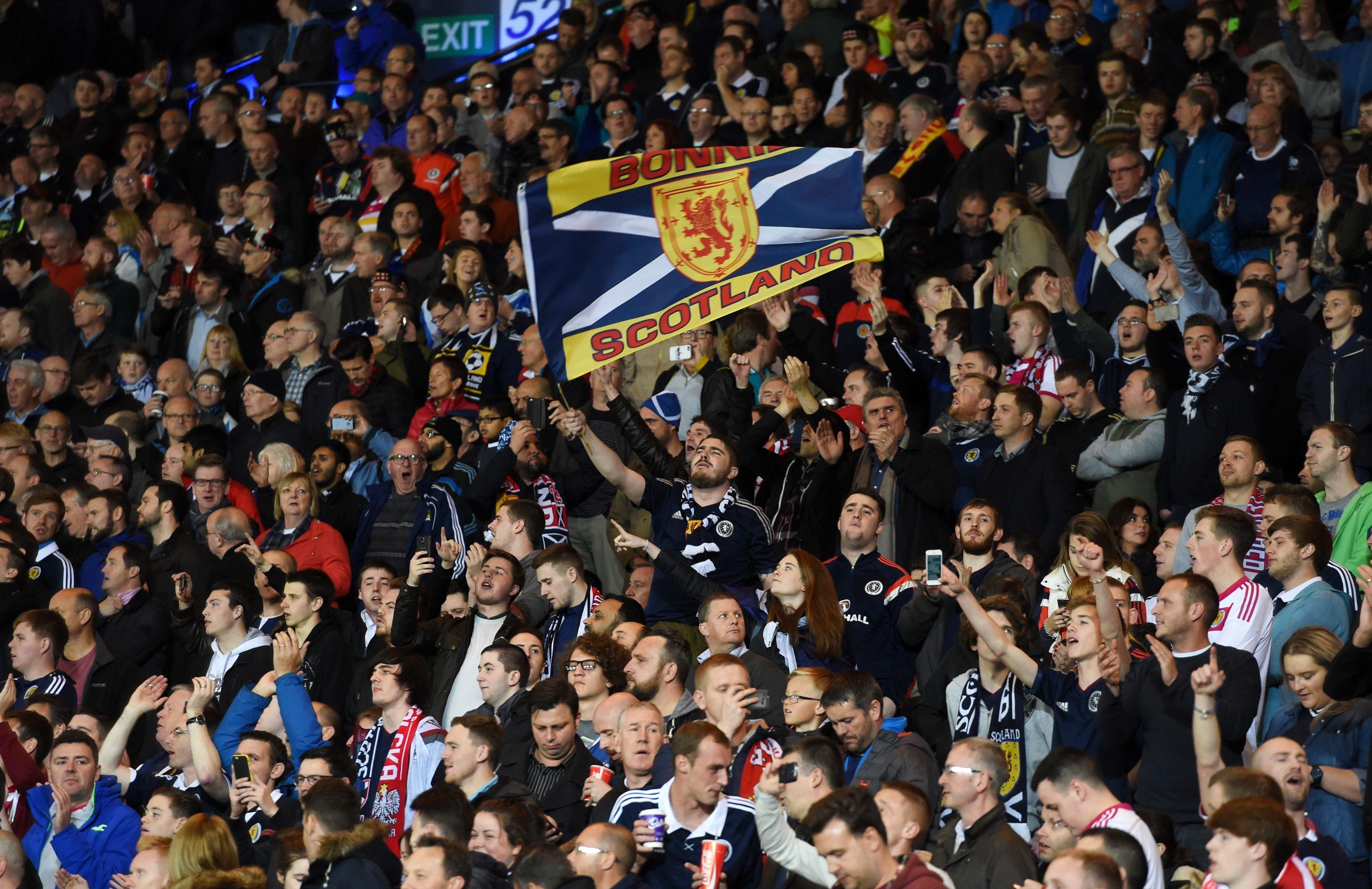 Scotland fans: should look at bigger picture.